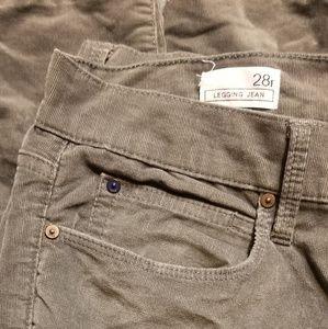 GAP Pants - Gap grey legging jean
